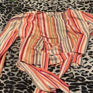 Cute wrap shirt